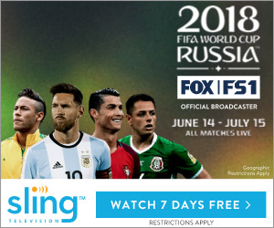Sling TV World Cup