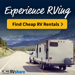 find cheap rv rentals for camping
