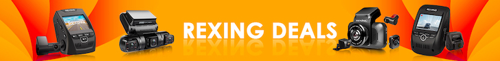 【SALE】 Rexing Top-Selling Dash Cams