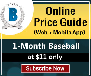 Buy 1 Month Baseball Price Guide_336x280