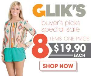 Flash Sale at Gliks.com!