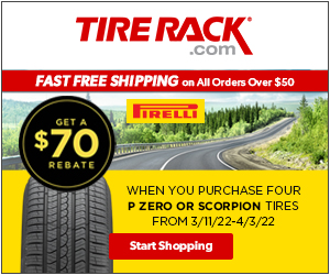 Buy a set of four Dick Cepek tires and get $80 by mail-in rebate.