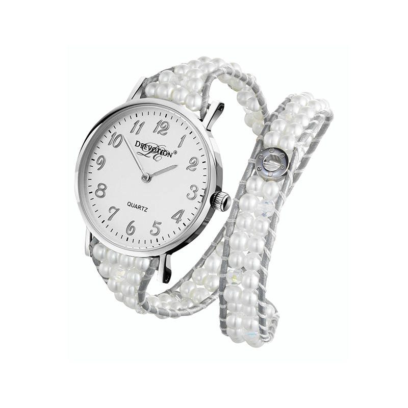 Pure White, Silver - Single Loop 800*800