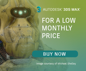 Autodesk 3ds Max 2018 Software Subscription