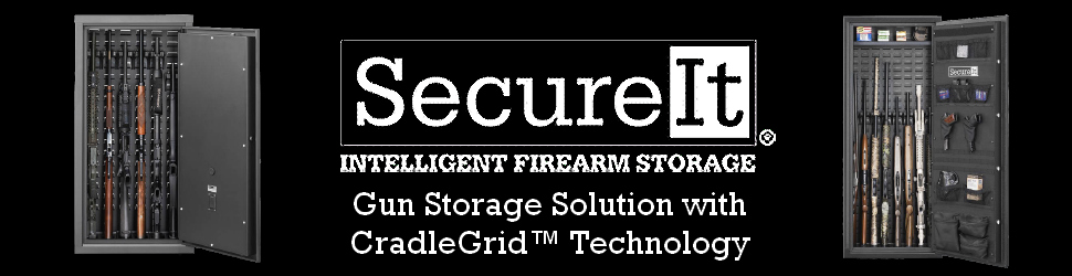 Featuring CradleGrid™ Technology - Defend Your Entire Home with Secure It Gun Storage. SecureIt has changed the way the world's militaries store their weapons and we are now changing the way you will store your firearms - More here.