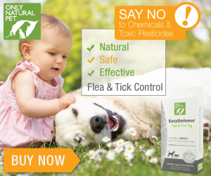 Go natural for your pet and save 14% site-wide with coupon code.