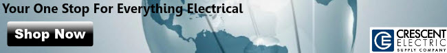 Shop at Crescent Electric ~ Your One-Stop Shop for All of your Electrical Needs!