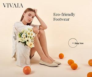 VIVAIA-Eco-friendly Footwear