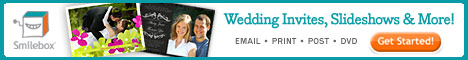 Create wedding invitations, slideshows & more from Smilebox.