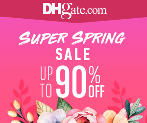 Up to 90% Off Spring Sale and Plenty of Coupons on DHgate.com