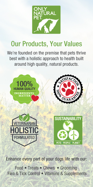 Only Natural Pet Food Values Banner