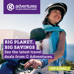 G Adventures Current Promos