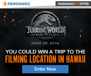 Jurassic World: Fallen Kingdom Sweepstakes