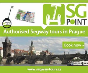 Segway výlety po Prahe