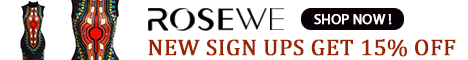 New sign ups get 15% off from rosewe