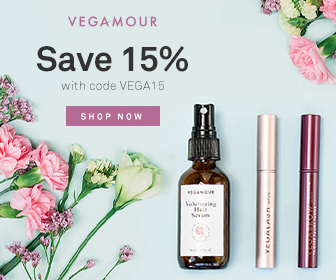 save 15% with code vega15