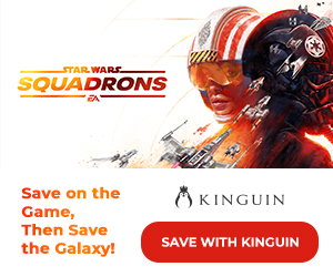 Kinguin - ?? Star Wars: Squadrons is OUT! Save -8% with code – 300×250