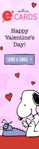 Snoopy Valentine's Days_160x600