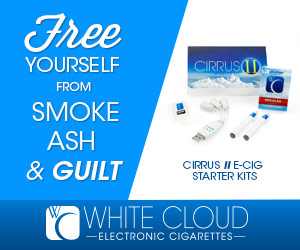 White Cloud Cirrus 2 Electronic Cigarette Starter Kit