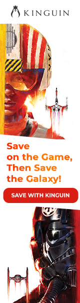 KINGUIN - ?? Star Wars: Squadrons is OUT! Save -8% with code – 160×600