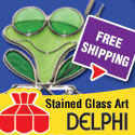 Free Shipping on Stained Glass Art