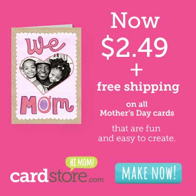 $2.49 Mother`s Day cards PLUS.