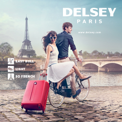 Delsey luggage and travel products