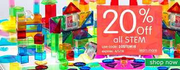 SAVE 20% Off All STEM Products & Get Free Shipping On All Orders Over $299 Using Code: 20STEM18 At D
