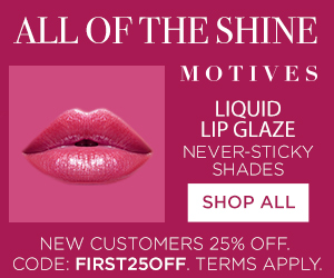Motives Cosmetics Liquid Lip Glaze - All the shine without the sticky residue!
