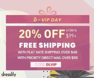 Dresslily D-VIP DAY Sale