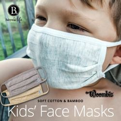 Image for Woombie® has created a face mask made specially for young children from soft natural cotton and bamboo fabrics. Now at Babywise.life. No Code Required.