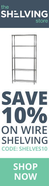 160x600 TSS Wire Shelving 10% OFF Coupon