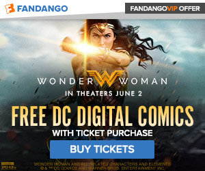 Fandango - Wonder Woman Ticketing GWP