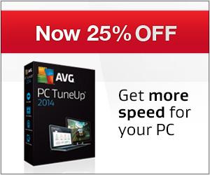 Summer sale: -25% AVG PC TuneUp!