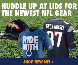 Huddle Up at Lids for the Latest NFL Gear