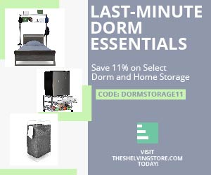 300x250 TSS Summer Storage Coupon on Wire Shelving - Ends July 6th