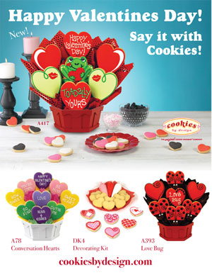 Image for Happy Valentine's Day! Say it with Cookies!