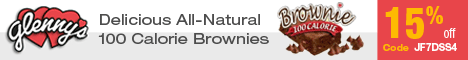 15% Off Delicious, All-Natural Brownies