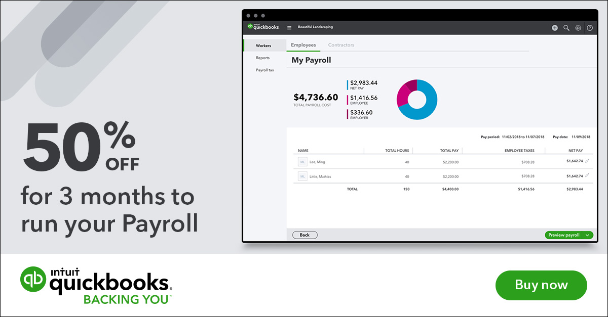 Intuit online payroll review