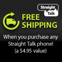 Buy any Straight Talk phone and get FREE Shipping!