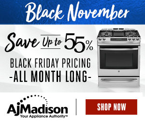 Black November Up to 55% OFF at AJMadison.com!