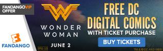 Fandango - Wonder Woman Ticketing GWP