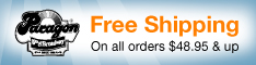 Free Shipping On All Orders Over $48.95