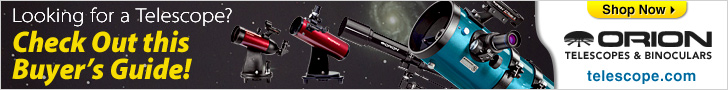 Orion Telescope Buying Guide