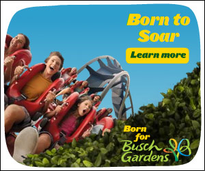 Spend a day at Busch Gardens Williamsburg