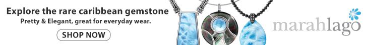 larimar necklaces by marahlago