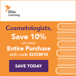 Image for Cosmetologists: Save 10% on your purchase with code ELITECM10