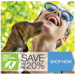 Up to 25% off Made in the USA Products at OnlyNaturalPet with coupon code.