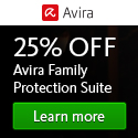 Winter Promo – 25% off Avira Family Protection Suite