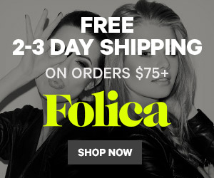 Free 2-3 Day Shipping on $75
